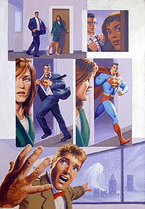 Superman p8, Brothers Hildebrandt