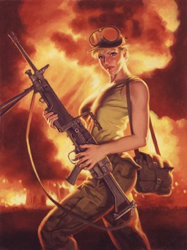 American Bombshell - Photo Print - Large, Greg Hildebrandt