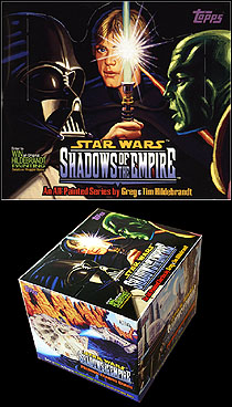 Shadows Of The Empire - Trading Card Box, Brothers Hildebrandt