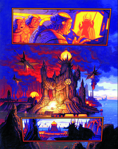 Emerald 7 - part 2 page 2, Brothers Hildebrandt