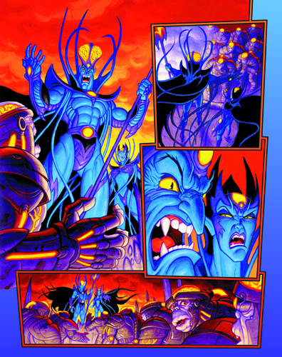 Emerald 7 - part 2 page 3, Brothers Hildebrandt