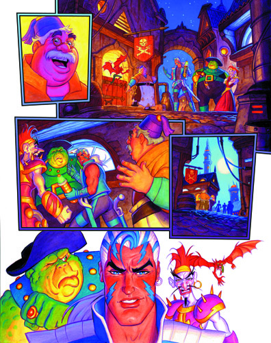 Emerald 7 - part 2 page 13, Brothers Hildebrandt