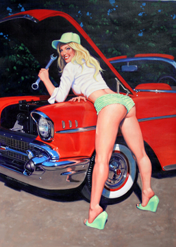 Grease Monkey - Photo Print, Greg Hildebrandt