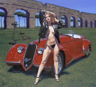 La Dolce Vita - Photo Print - Large, Greg Hildebrandt
