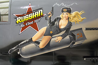Russian Ta Get Ya - Photo Print - Large, Greg Hildebrandt