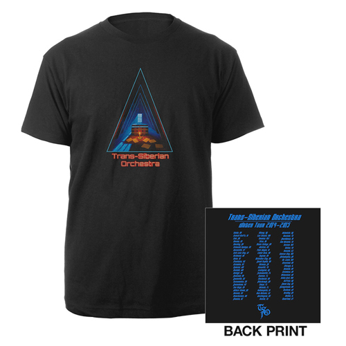 TSO The Christmas Attic 2014 - Triangle Design T-Shirt - Extra Large , Greg Hildebrandt