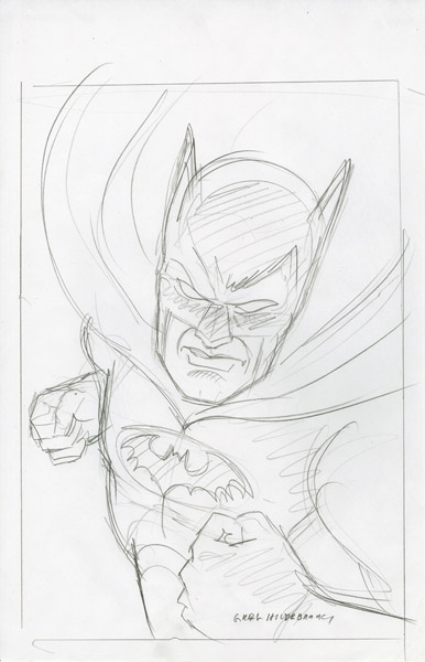 Batman - Sketch #2, Greg Hildebrandt