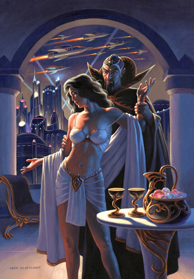 Ming and Dale Arden , Greg Hildebrandt