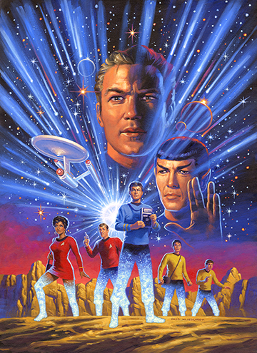 Star Trek: Year Five Cover , Greg Hildebrandt