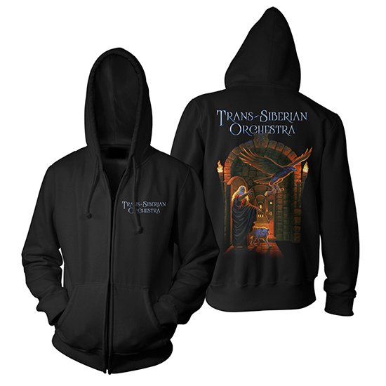 2015 TSO Letters from the Labyrinth - Hooded Sweatshirt - XL, Greg Hildebrandt